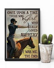 There Was A Girl Who Really Loved Archery 11x17 Poster lifestyle-poster-8