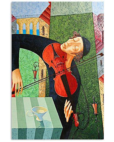 Violin Violinist Man Art