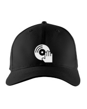 DJ Scratching Hand Embroidered Hat front