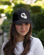 DJ Scratching Hand Embroidered Hat garment-embroidery-hat-lifestyle-07