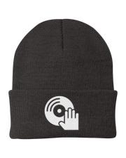 DJ Scratching Hand Knit Beanie thumbnail