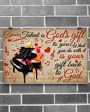 Pianist Your Gift To God 17x11 Poster poster-landscape-17x11-lifestyle-18