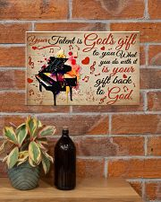 Pianist Your Gift To God 17x11 Poster poster-landscape-17x11-lifestyle-23