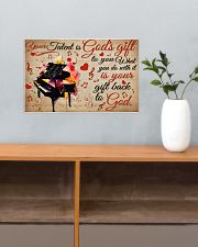 Pianist Your Gift To God 17x11 Poster poster-landscape-17x11-lifestyle-24