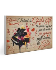 Pianist Your Gift To God 30x20 Gallery Wrapped Canvas Prints thumbnail