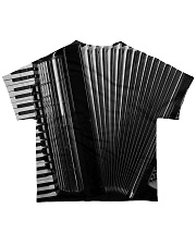 Accordion Black All-over T-Shirt back