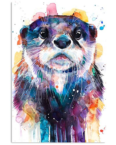 Otter Poster Colors