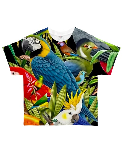 Parrot All over Tropical