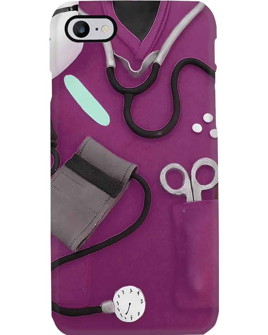 Nurse Purple Scrubs Phone Case