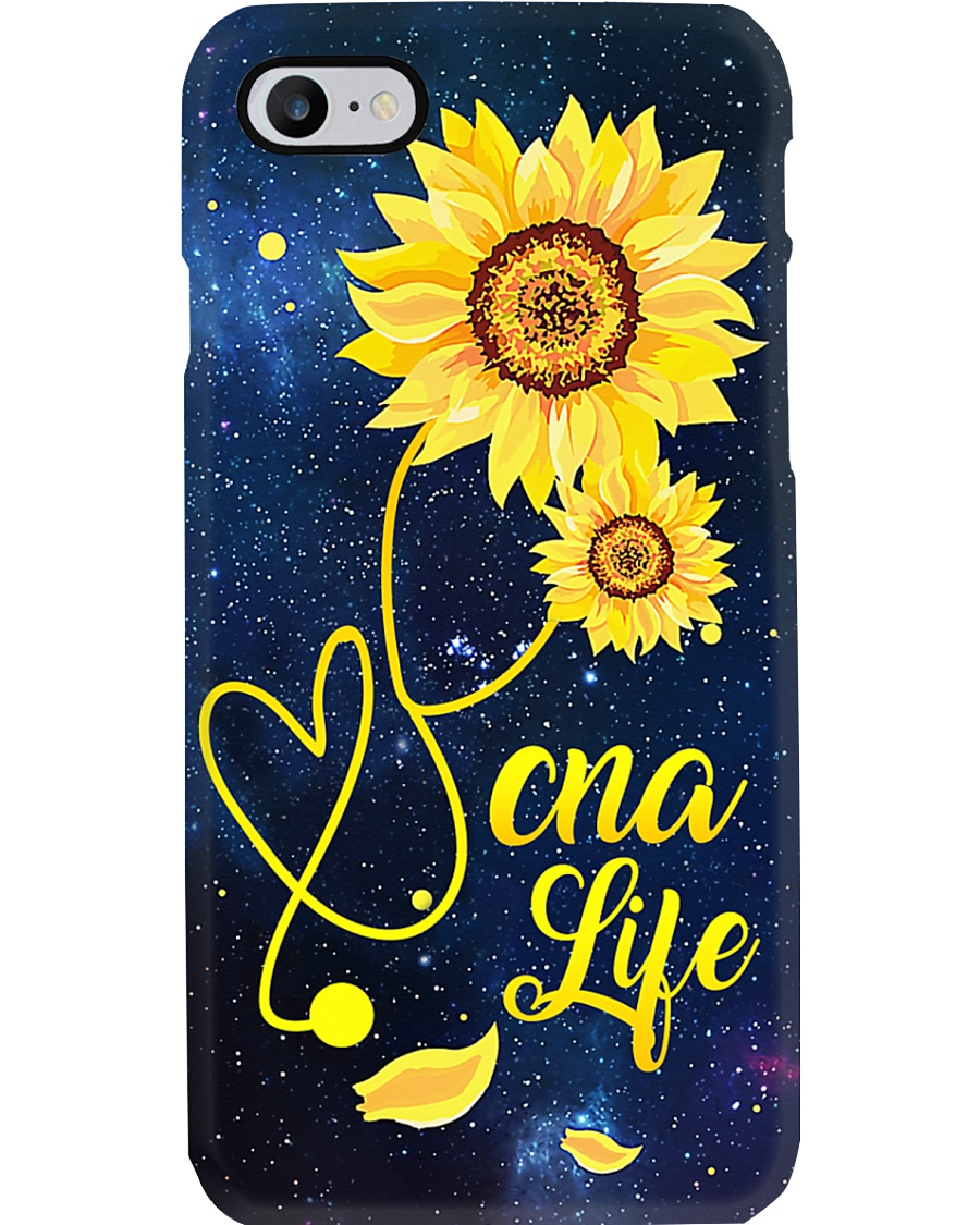 CNA Sunflower Stethoscope   Phone Case
