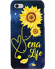 CNA Sunflower Stethoscope   Phone Case i-phone-7-case