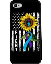 Flag Sunflower Ribbon Suicide Prevention Phone Case i-phone-7-case