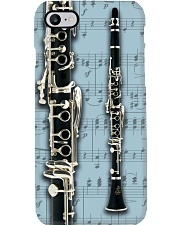 Clarinet Blue Sheet Music Phone Case i-phone-7-case