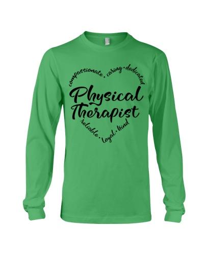 Physical Therapist Characteristics Heart