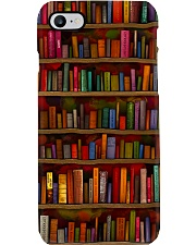 Librarian Bookshelf  Phone Case i-phone-7-case