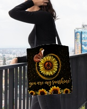 Otter You are my sunshine All-over Tote aos-all-over-tote-lifestyle-front-05
