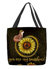 Otter You are my sunshine All-over Tote front