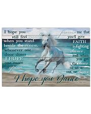 Horse Girl I Hope You Dance 17x11 Poster front