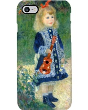 Ukulele Art Girl Phone Case i-phone-7-case