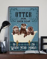 Otter wash your hands 11x17 Poster lifestyle-poster-2