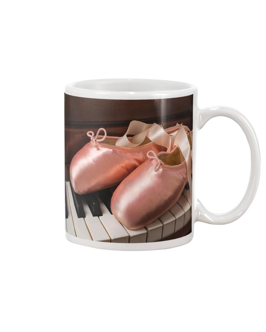 Ballet shoes and piano Mug