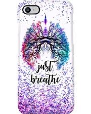 Respiratory Therapist Just Breathe Phone Case i-phone-7-case