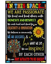 Social Worker In this space Poster 11x17 Poster front