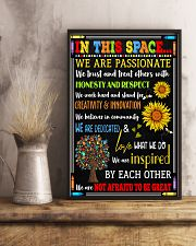 Social Worker In this space Poster 11x17 Poster lifestyle-poster-3