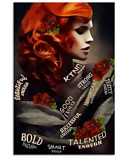 Redhead Beautiful Enough 11x17 Poster front