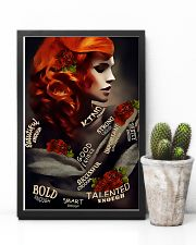 Redhead Beautiful Enough 11x17 Poster lifestyle-poster-8