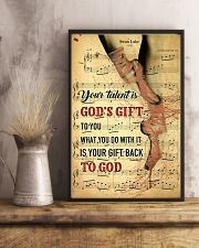 Ballet - Your talent is God gift 11x17 Poster lifestyle-poster-3