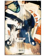Contrabass Colorful Jazz 11x17 Poster front