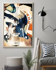 Contrabass Colorful Jazz 11x17 Poster lifestyle-poster-1