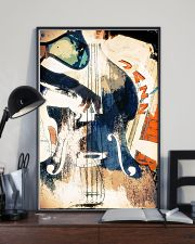 Contrabass Colorful Jazz 11x17 Poster lifestyle-poster-2