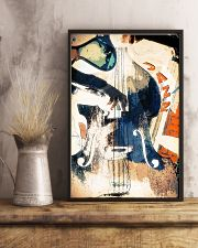 Contrabass Colorful Jazz 11x17 Poster lifestyle-poster-3