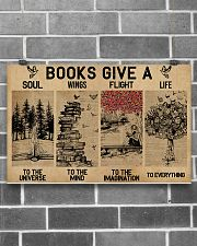 Librarian Books Give A Soul To The Universe 17x11 Poster poster-landscape-17x11-lifestyle-18