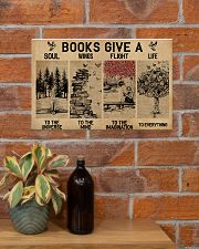 Librarian Books Give A Soul To The Universe 17x11 Poster poster-landscape-17x11-lifestyle-23