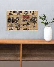 Librarian Books Give A Soul To The Universe 17x11 Poster poster-landscape-17x11-lifestyle-24