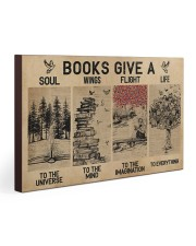 Librarian Books Give A Soul To The Universe 30x20 Gallery Wrapped Canvas Prints thumbnail