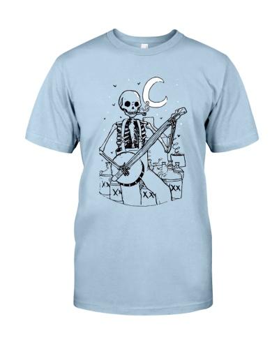 Skeleton Playing Banjo