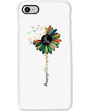 Massage Therapist Colorful Sunflower Phone Case thumbnail