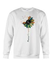 Massage Therapist Colorful Sunflower Crewneck Sweatshirt thumbnail
