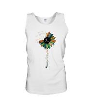 Massage Therapist Colorful Sunflower Unisex Tank thumbnail