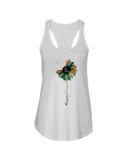Massage Therapist Colorful Sunflower Ladies Flowy Tank thumbnail