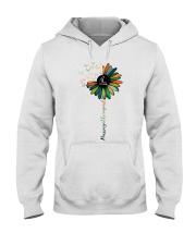 Massage Therapist Colorful Sunflower Hooded Sweatshirt thumbnail