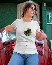Massage Therapist Colorful Sunflower Ladies T-Shirt apparel-ladies-t-shirt-lifestyle-01