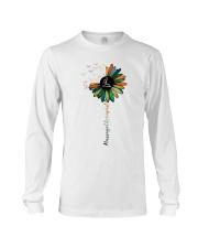 Massage Therapist Colorful Sunflower Long Sleeve Tee thumbnail