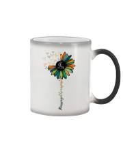 Massage Therapist Colorful Sunflower Color Changing Mug thumbnail