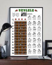 Ukulele Chords 11x17 Poster lifestyle-poster-2