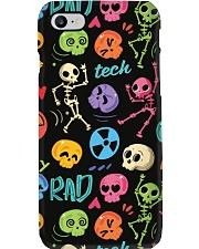Radiologist Colorful Radiology Skeleton Icons Phone Case i-phone-7-case